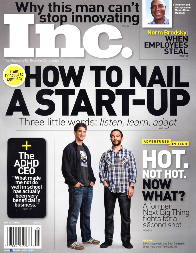 INC Magazine Cover