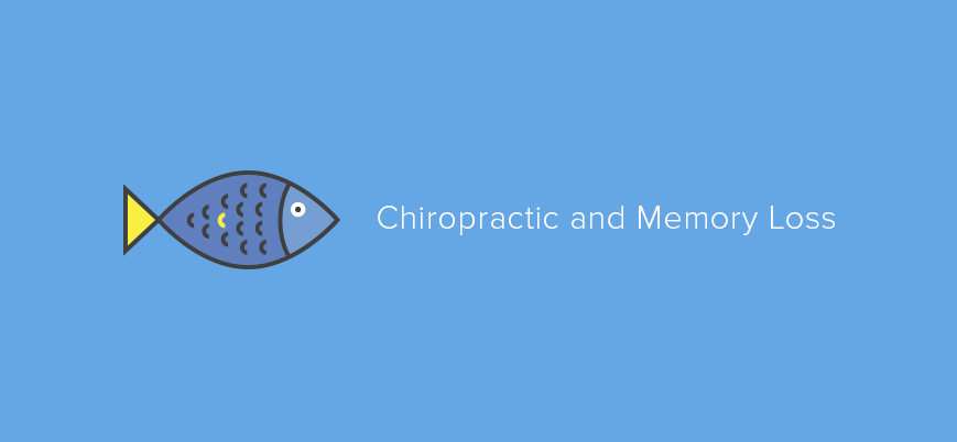 Finding Dory: Chiropractic and Memory Loss