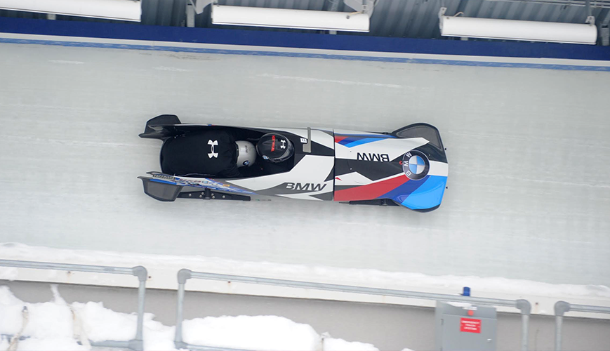 Olympic Bobsled Training