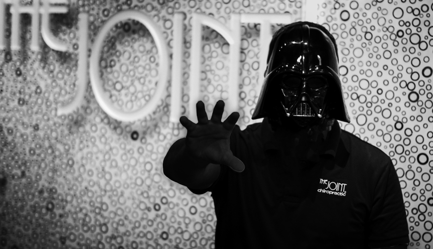 The Joint Chiropractic | Darth Vader
