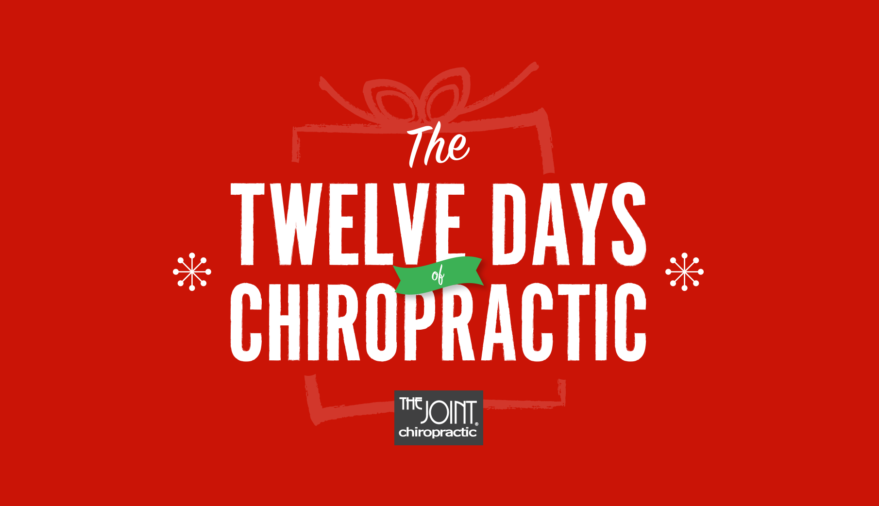 The Joint Chiropractic | The Twelve Days of Chiropractic