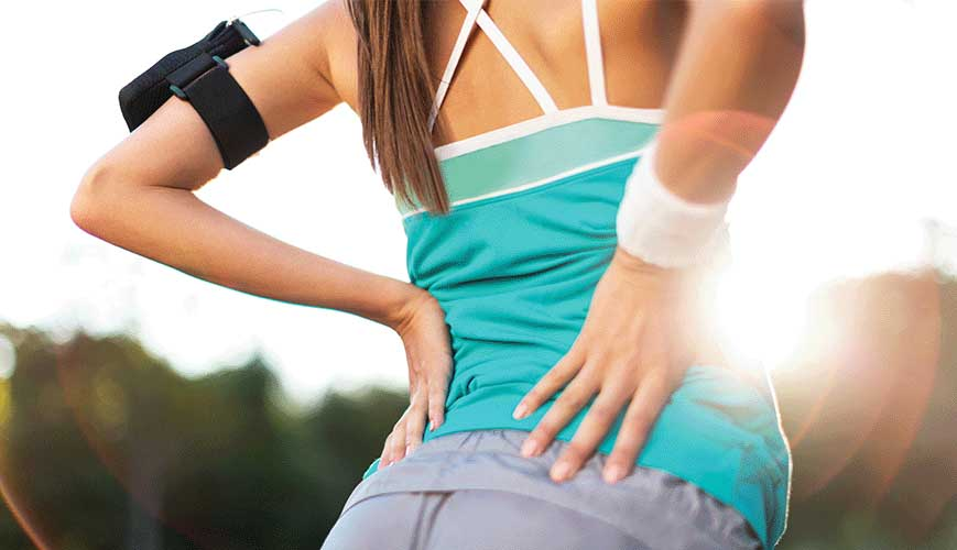 Women Running and Experience Back and Leg Pain Caused by Sciatica