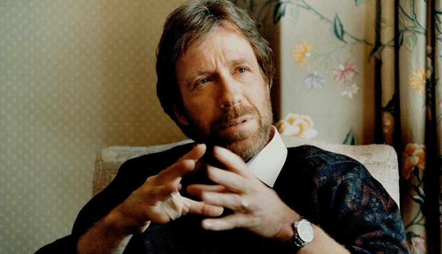 Chuck Norris Circa 1988