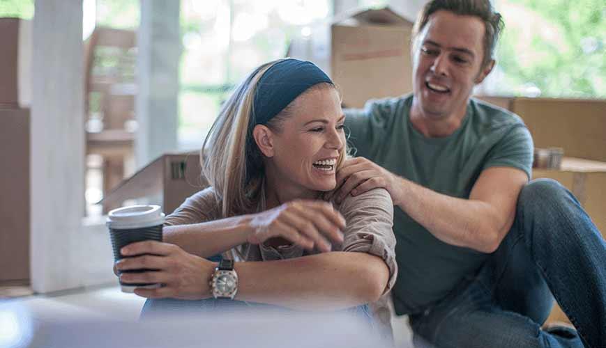 Husband Providing Wife Back Massage
