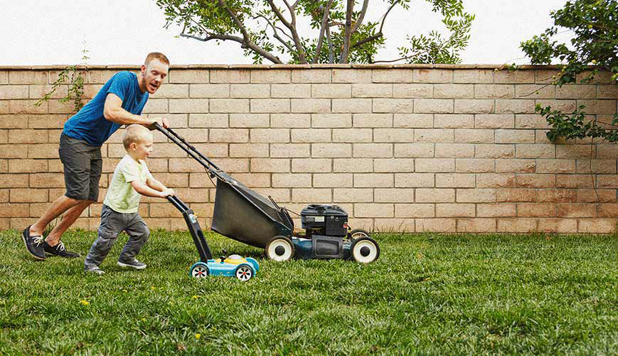 Chiropractic for Mowing the Lawn
