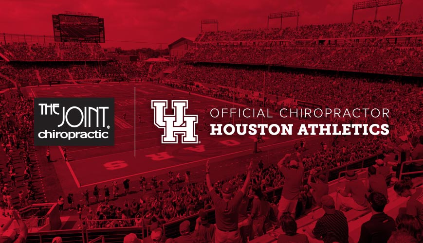 Official Chiropractor of Houston Athletics | The Joint Chiropractic