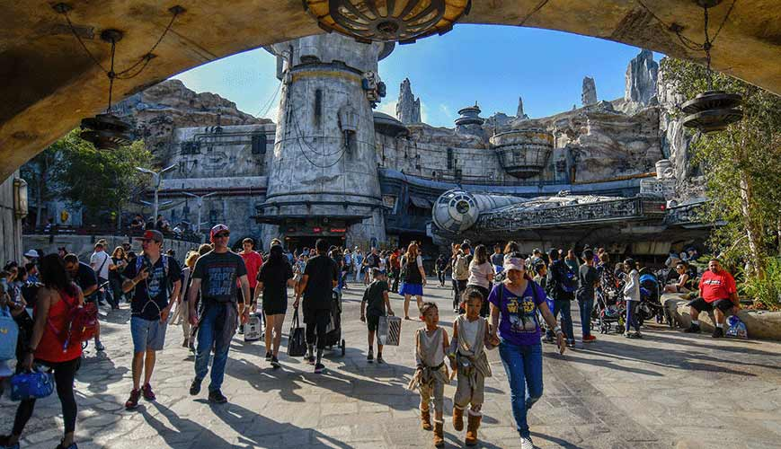 Star Wars, Disneyland and Lines