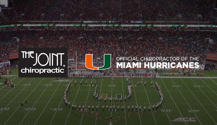 Official Chiropractor of University of Miami