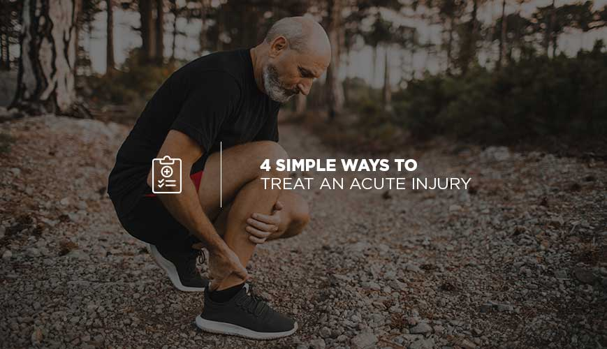 Tips for an Acute Injury