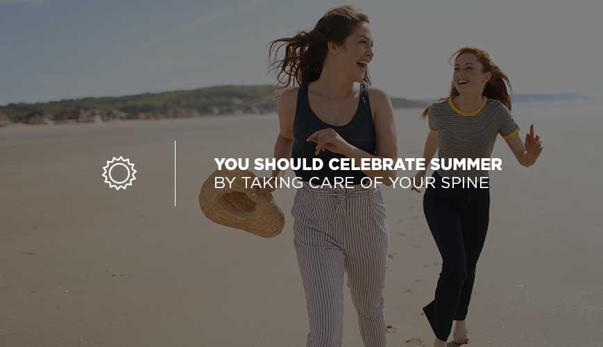 Summertime Spine Health